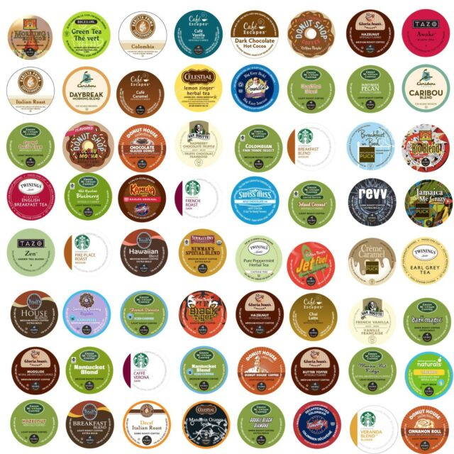 Keurig K-Cup CUSTOM VARIETY Pack. Over 150 Flavors To Choose From, Coffee, Tea