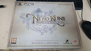 Ni-No-Kuni-Wizard-039-s-Edition-Playstation-3-PS3-Brand-New-amp-Sealed