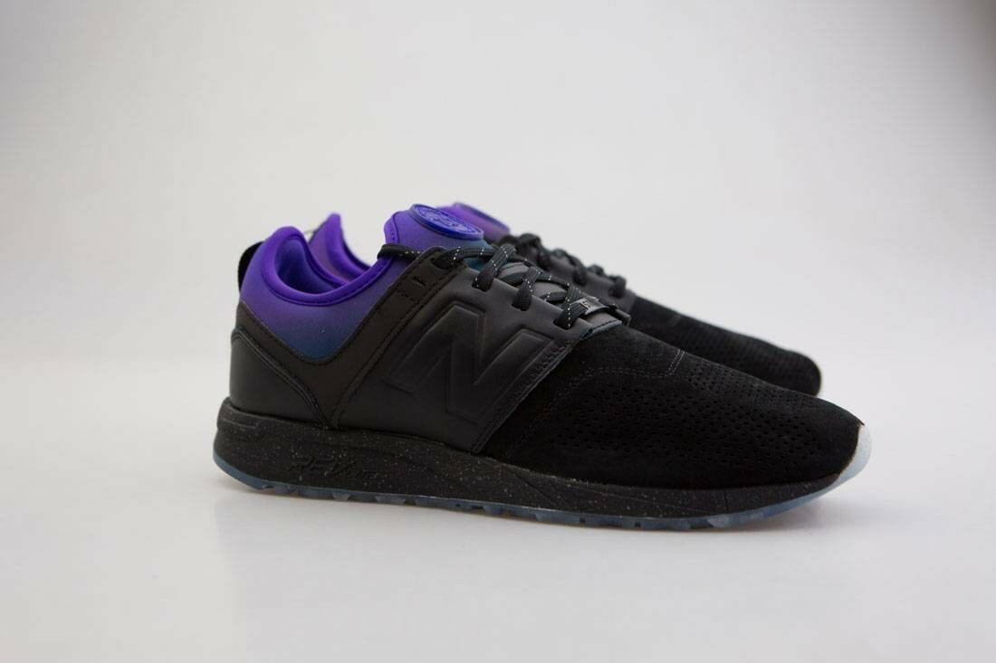 MRL247ST New Balance x Stance Men MRL247 All Night black purple