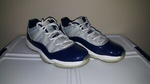 03fed754aac3 Nike Air Jordan XI Retro 11 Low Size 12 Georgetown VNDS