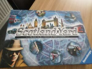 SCOTLAND YARD BY RAVENSBURGER  BOARD GAME COMPLETE FREE UK POST