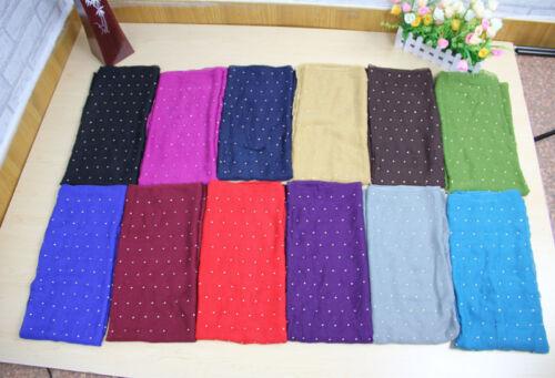 Clous//Diamonte Hijab Large Maxi écharpe Wrap Sarong