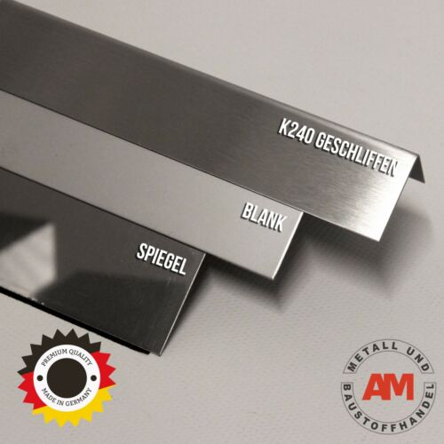 Stainless Steel Angle V2A Eckschutz Corner bar Edge Protection Pad Guards