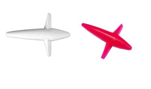2 teaser rosa e bianco aeroplanini pesca traina altura tonno bird affondatore