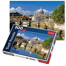 TREFL 500 pezzi adulto grande vaticano Roma mare vista pavimento Puzzle NUOVO