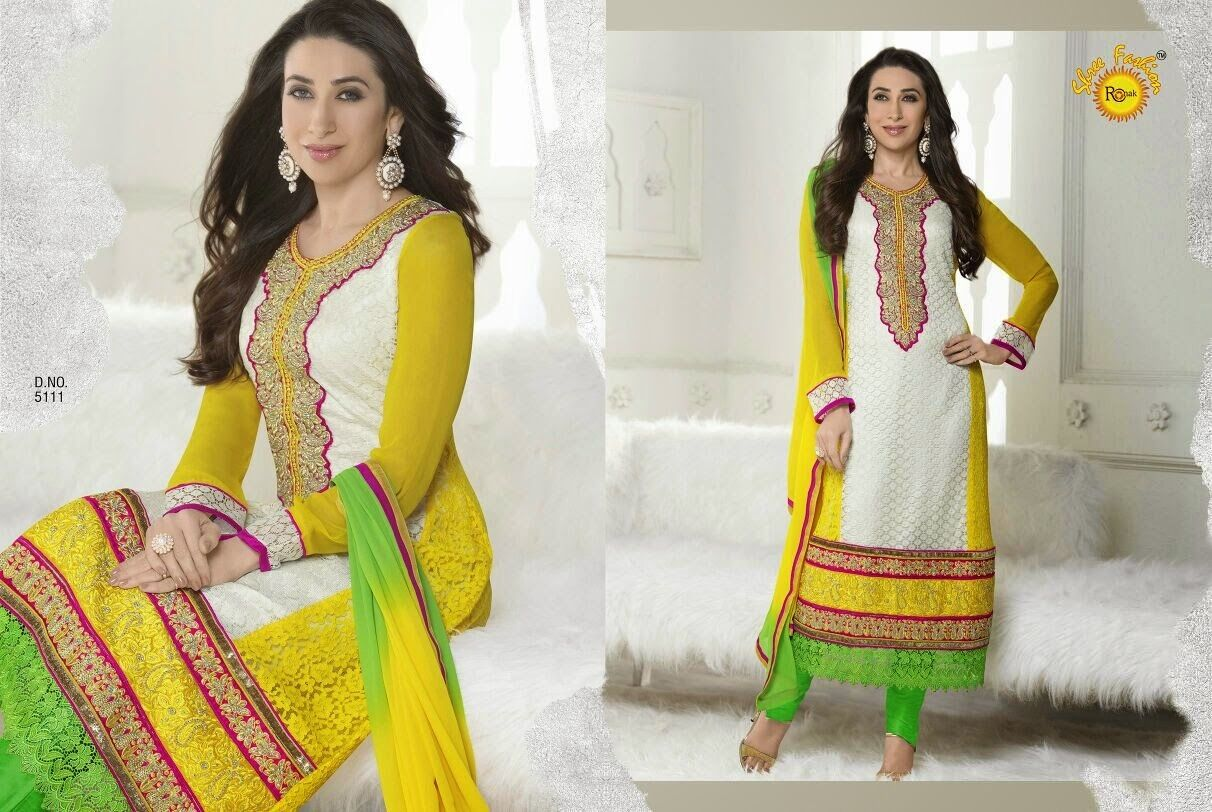 INDIAN ANRKALI ETHNIC DESIGNER SALWAR SUIT BOLLYWOOD PAKISTANI new PARTY WEAR
