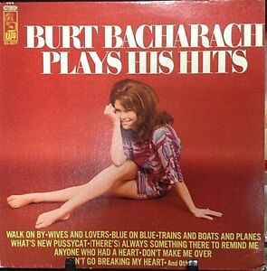 BURT-BACHARACH-Plays-His-Hits-Album-Released-1969-Vinyl-Record-Collection-US-pre