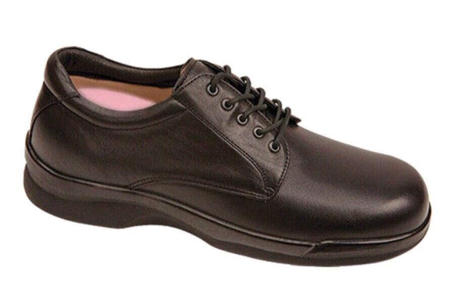 Nuevo Apex para hombre Ambulator Conform Con Cordones Oxford Oxford Oxford Vestido Zapato Negro Cuero 12 de ancho b97f86