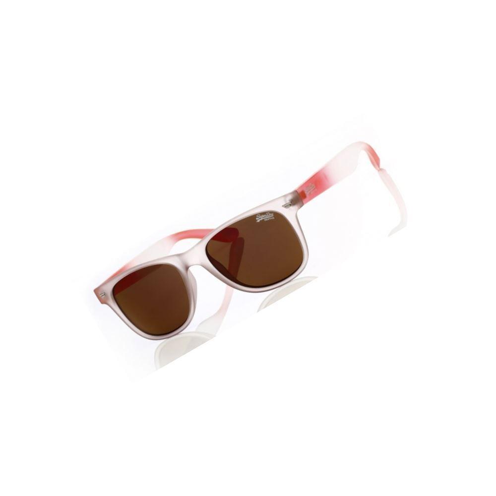 Superdry Sonnenbrille Superfarer 172 Herrenmodell Cat.3 Kunststoff Orange Braun     | Sonderangebot