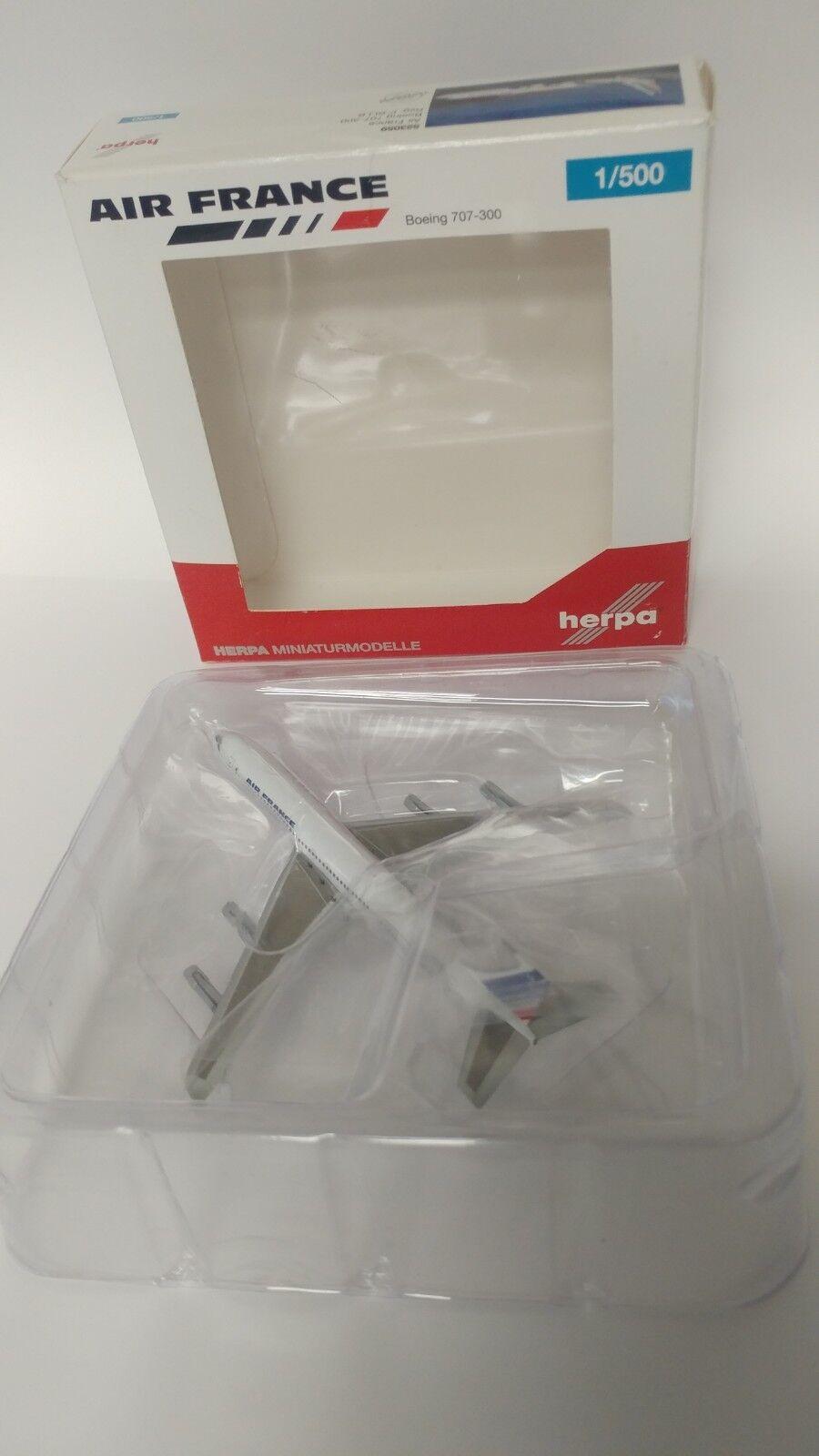 Herpa 1   500 miniatur - air - france - 523059 boeing 707-300