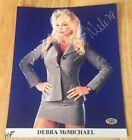 DEBRA McMICHAEL Signed Autograph 8x10 Photo WCW WWF WWE ECW With Hologram COA