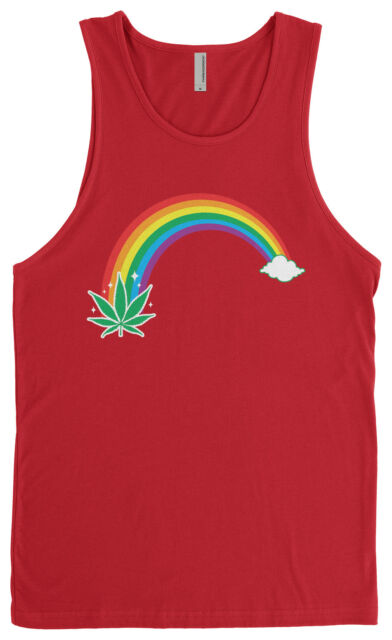 Men/'s Galaxy High Stringer Muscle Workout Gym Weed Kush Blunt Tank Top T Shirt