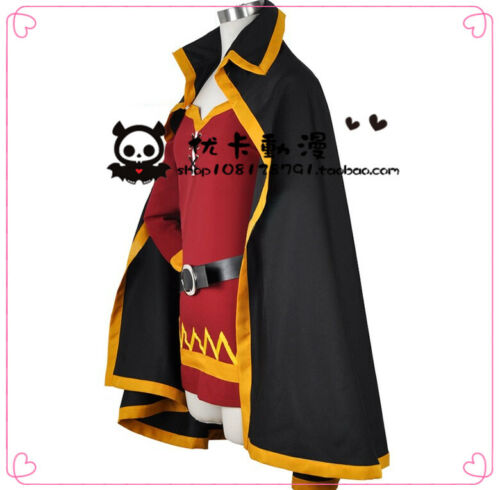Track Details about  /KonoSuba God's Blessing On This Wonderful World Megumin Cosplay Costume