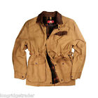 Kakadu Mens Pilbara Jacket Canvas Durable Mustard casual or work barn jacket