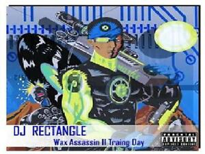 DJ RECTANGLE WAX ASSASSIN 2 sealed CD NEW.