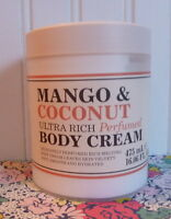 Creightons Mango & Coconut Ultra Rich Perfumed Body Cream 16 Oz Tub