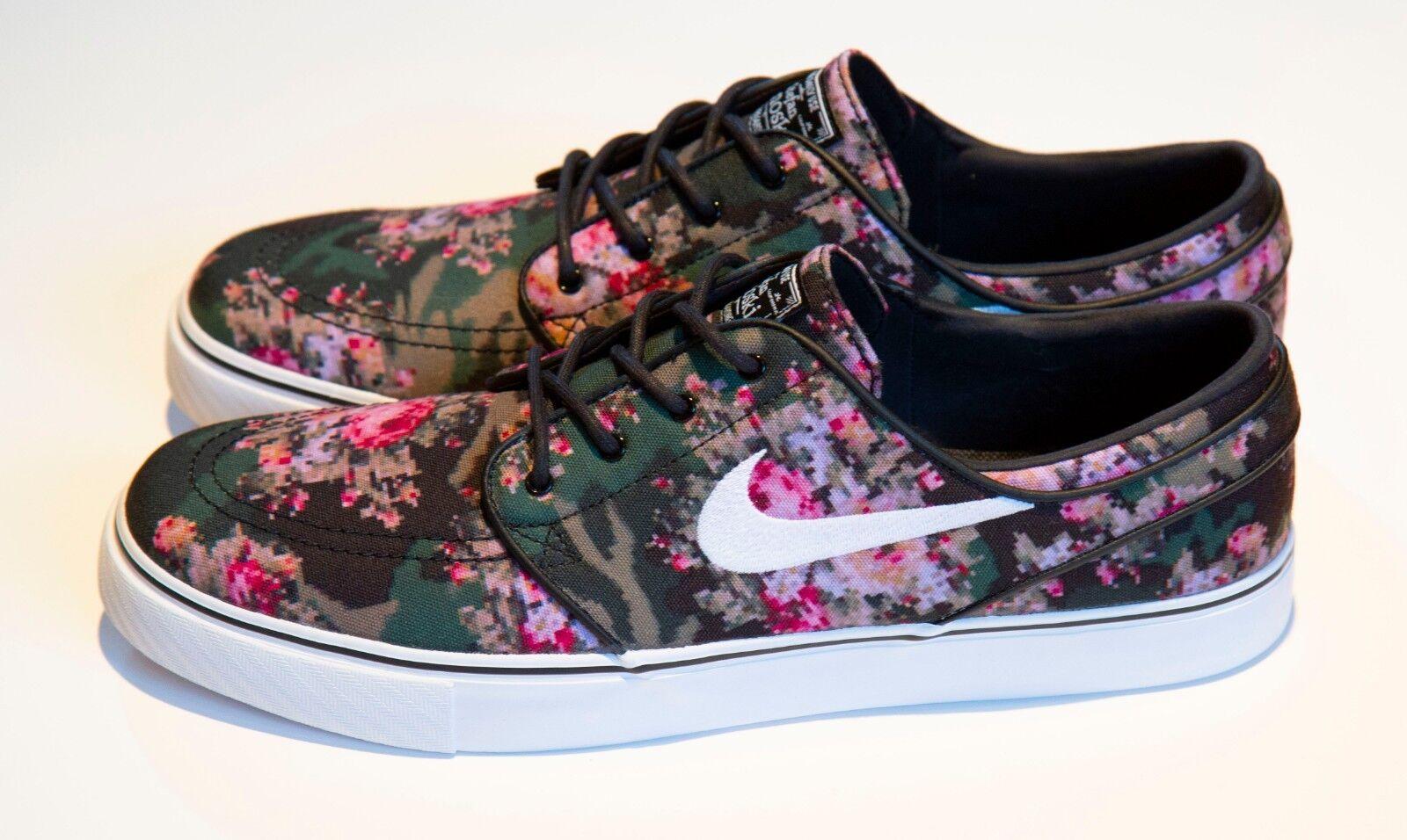 Nike SB Zoom Zoom Zoom Stefan Janoski Premium Floral Digi Camo 482972-900 Men's Size 12 1e3e6a