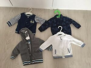 Einfach Baby Set❤️4 Strickjacken ❤️gr.62 Unterscheidungskraft FüR Seine Traditionellen Eigenschaften Pakete & Sets