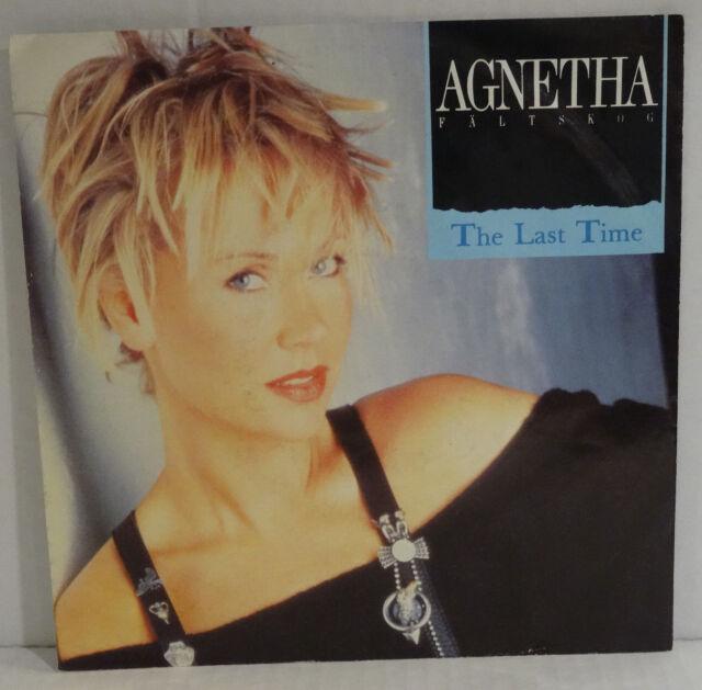 """AGNETHA FÄLTSKOG (ABBA) - The Last Time > 7"""" Single Vinyl"""