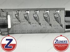 -D3417 Do-it Ultra Minnow Jig Mold 3 Cavities 2,3 /& 4 oz