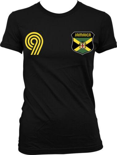 Jamaica Jamaican National Country Pride The Reggae Boyz Soccer Juniors T-shirt