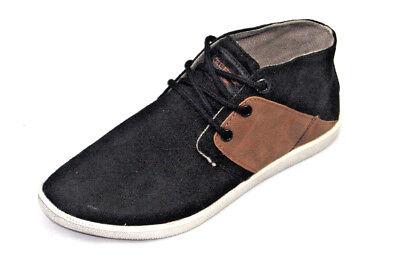 Genuine calas Niños Negro Marrón Chukka Botas Zapatos Moda Entrenadores Tallas 3.5-7