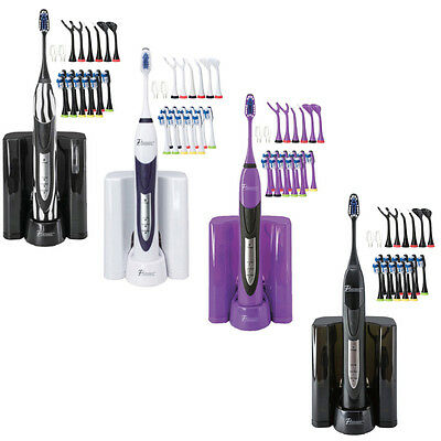 PURSONIC S520 High Powered Electric Toothbrush w/ Dock (Value Pack)