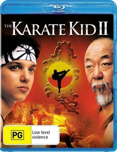 1 of 1 - The Karate Kid II (Blu-ray, 2010) all regions