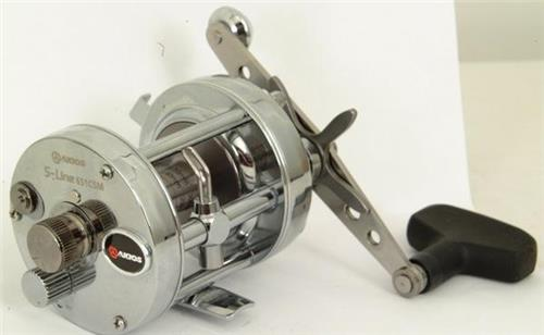 Akios 651 CSM Left Handed Sea Casting Fishing Casting Sea Multiplier Reel 8d1acc
