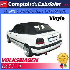 Caricamento dell immagine in corso Capote-Volkswagen-Golf-3-cabriolet -Toile-vinyle 4007d7ee1ed8