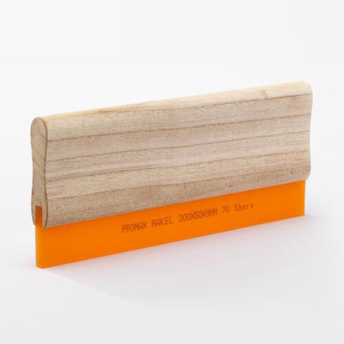 textilen SiebdruckTextildruckAllround Handrakel 10cm Holzrakel 70 Shore f