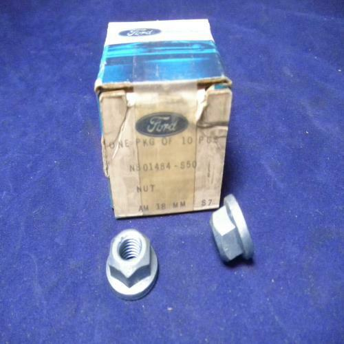 Ford nuts #N801484S50 Lot of 2
