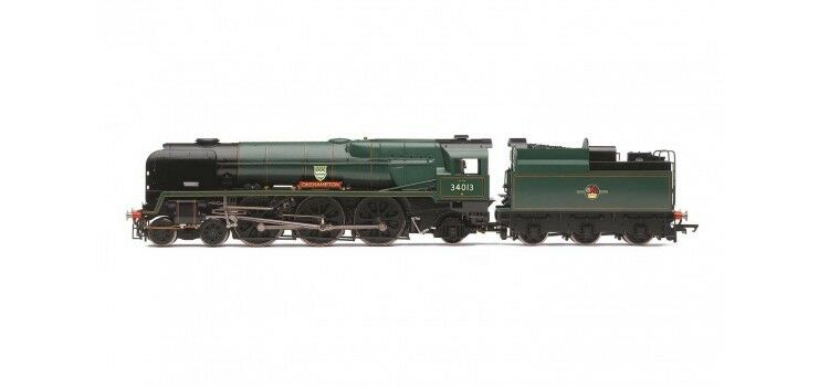 Hornby R3310 BR 4-6-2 Rebuilt West Country Class Okehampton 34013 DCC Ready NEW
