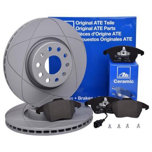 ATE Powerdisc Bremsenset Scheiben Ø312  Beläge Ceramic vorn VW Audi Skoda Seat
