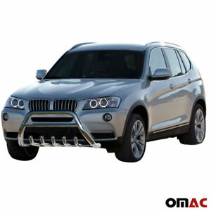 Details about BMW X3 F25 2011-2017 Stainless Steel Bull Bar Front Bumper  Protection Guard Bar