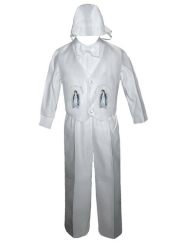 Toddler Boy Baptism Christening Communion Bautizo Pants Set Guadalupe Sm to 4T