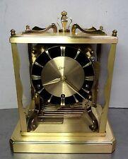 Hochwertige mechanische Tischuhr Schatz & Söhne Kamin Uhr W3 Westminster ~60er
