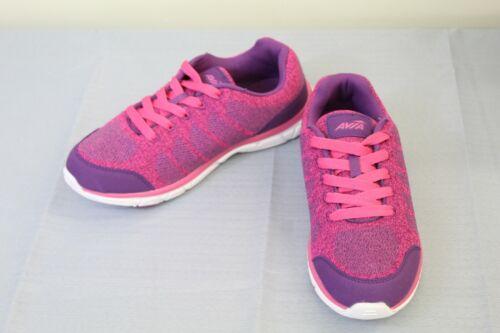 Avia Avi-Rift Sneaker Big Girl/'s Size 6 Grape Jam//Pink Energy