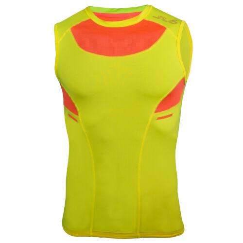 Sub Sports Heat 2.0 Summer Mens Sleeveless Semi-Compression Vest