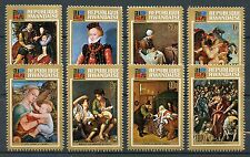 Rwanda 1973 MNH IBRA Famous Art 8v Set Rubens El Greco Murillo Stamps