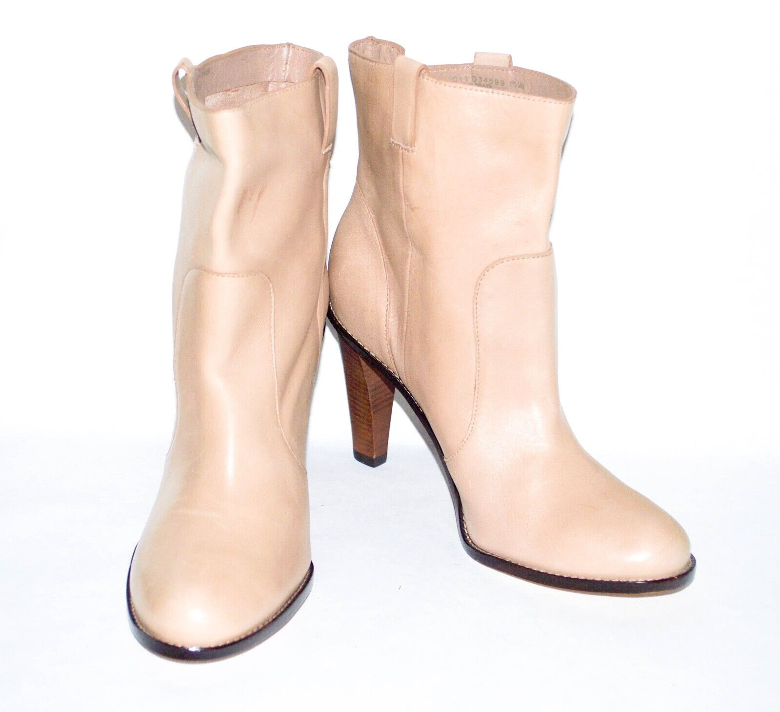 f0642b8ae45 Cole Haan 'Air Kendall' Leather Ankle Boot In Natural. US Size 8.5 B