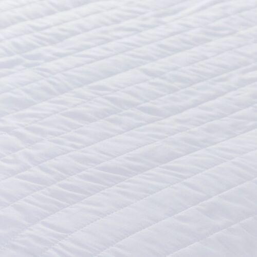 Nouveau Silentnight Lit Double Taille Super Doux Matelassé Matelas Protecteur