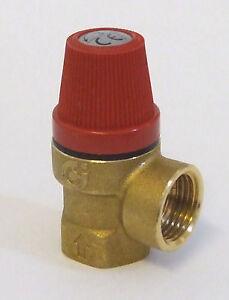 Press Relief Valve 3.0bar 1/2 bsp                PRV45 Plumbing