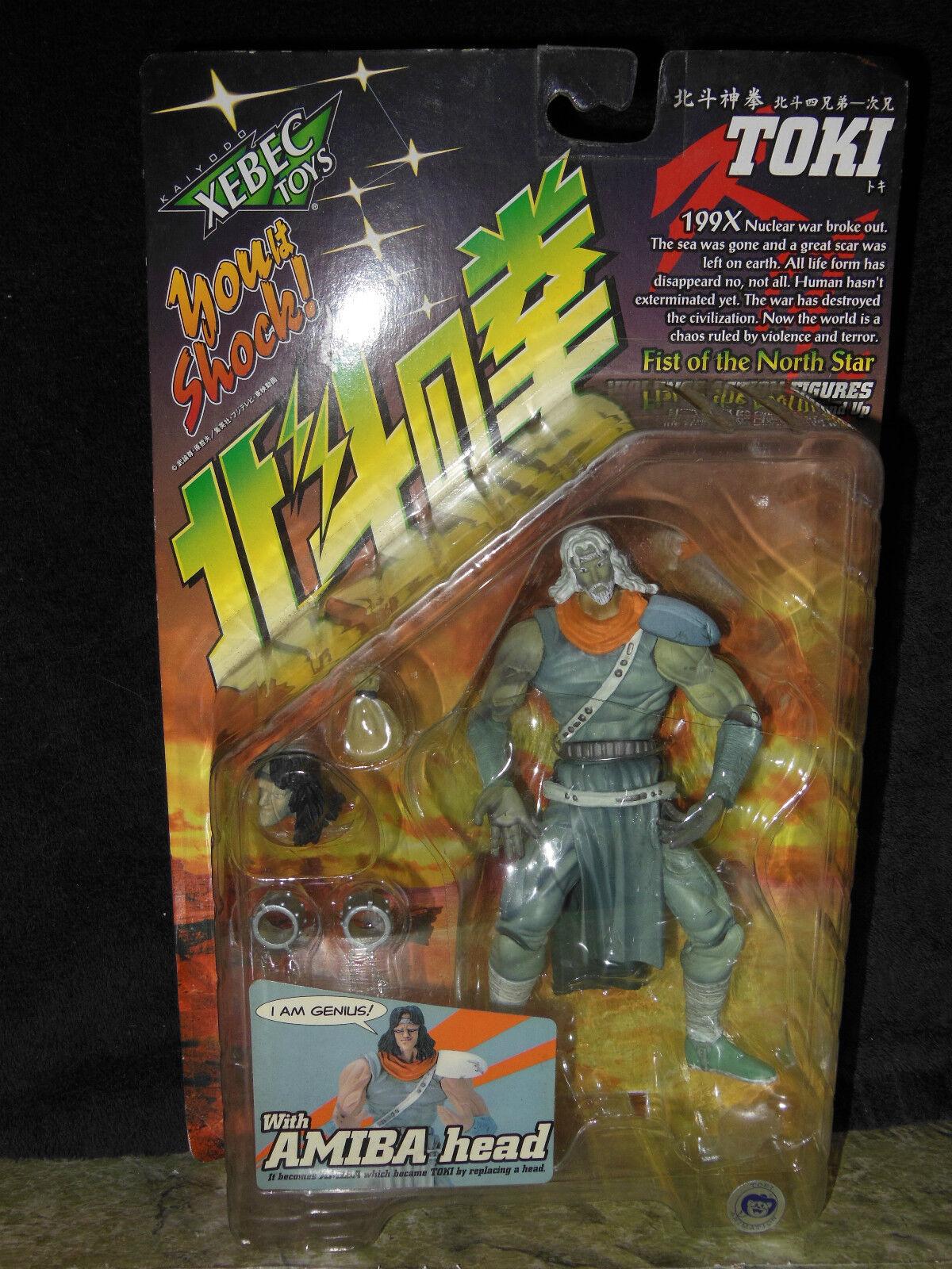 XEBEC Toys Fist of the North Star Tok w Amiba Head