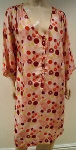 a Birger rosa con e multicolore scollo Et Day Vestito stampato Mikkelsen V a estivo pois 1xwFBBZqv
