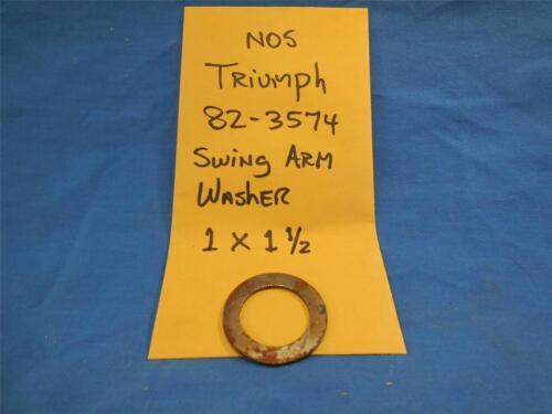 Triumph 82-3574 NOS Swing Arm Washer 1 X 1 1//2  NP338
