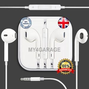 627beeb150a Genuine Apple iPod iPad iPhone 5S 5C SE 6 6s Plus Earphones ...