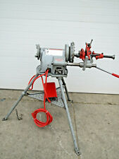 Ridgid 300 T2 Power Pipe Threader Threading Machine With Oiler Used Free Shipping