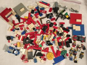 Lot-LEGO-pieces-8-MINIFIGS-Racer-WHEELS-Bricks-STAR-WARS-2-poundsBILLY-STARBEAM