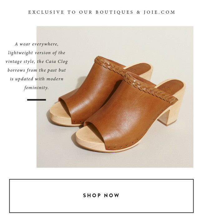 JOIE CAIA Cuoio Leather Mule  248 MSRP MSRP MSRP Größe 39.5 M NEW 2e0d1c